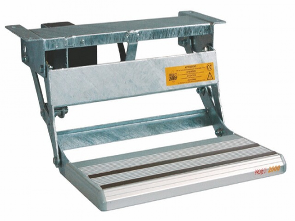 Electric Motorhome Step With See Saw Motion