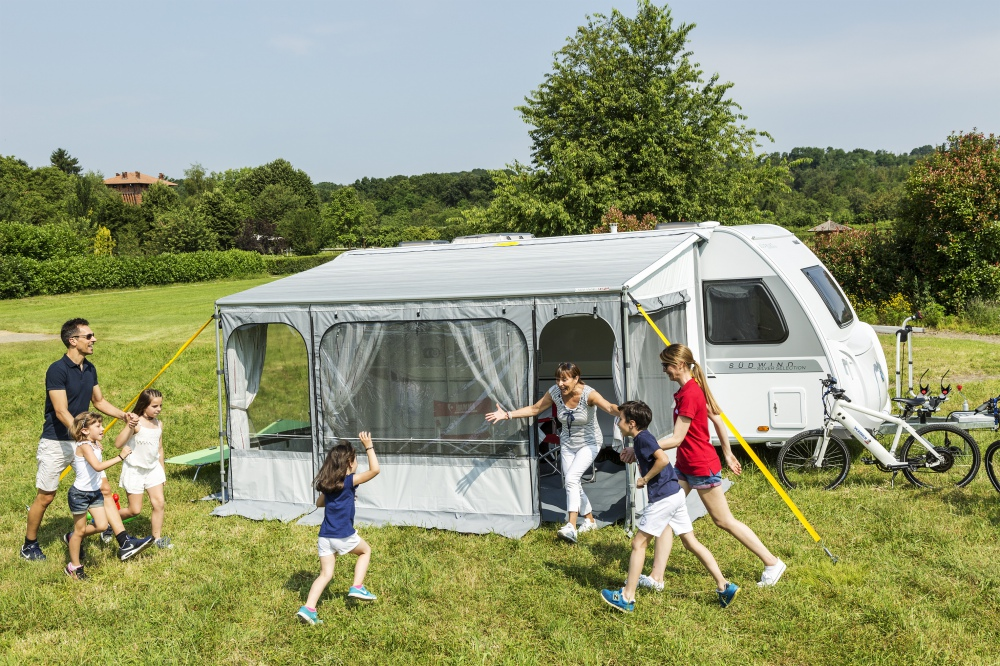 Fiamma Caravanstore Zip Caravan Awning and Enclosure System