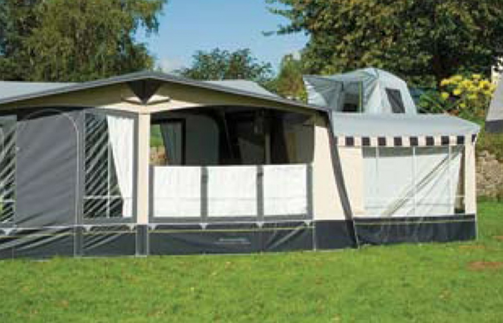 Awning Curtains  Skirts - Camping Equipment, Caravan Accessories
