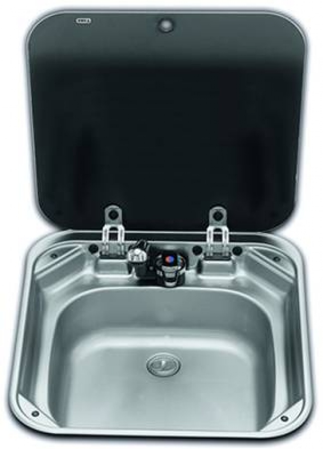 Smev 8006 sink and lid unit for caravans and motorhomes - Caravan kitchen sink ...