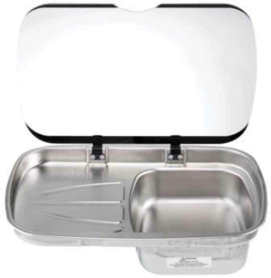 Thetford spinflo argent stainless steel caravan and campervan kitchen sink - Caravan kitchen sink ...