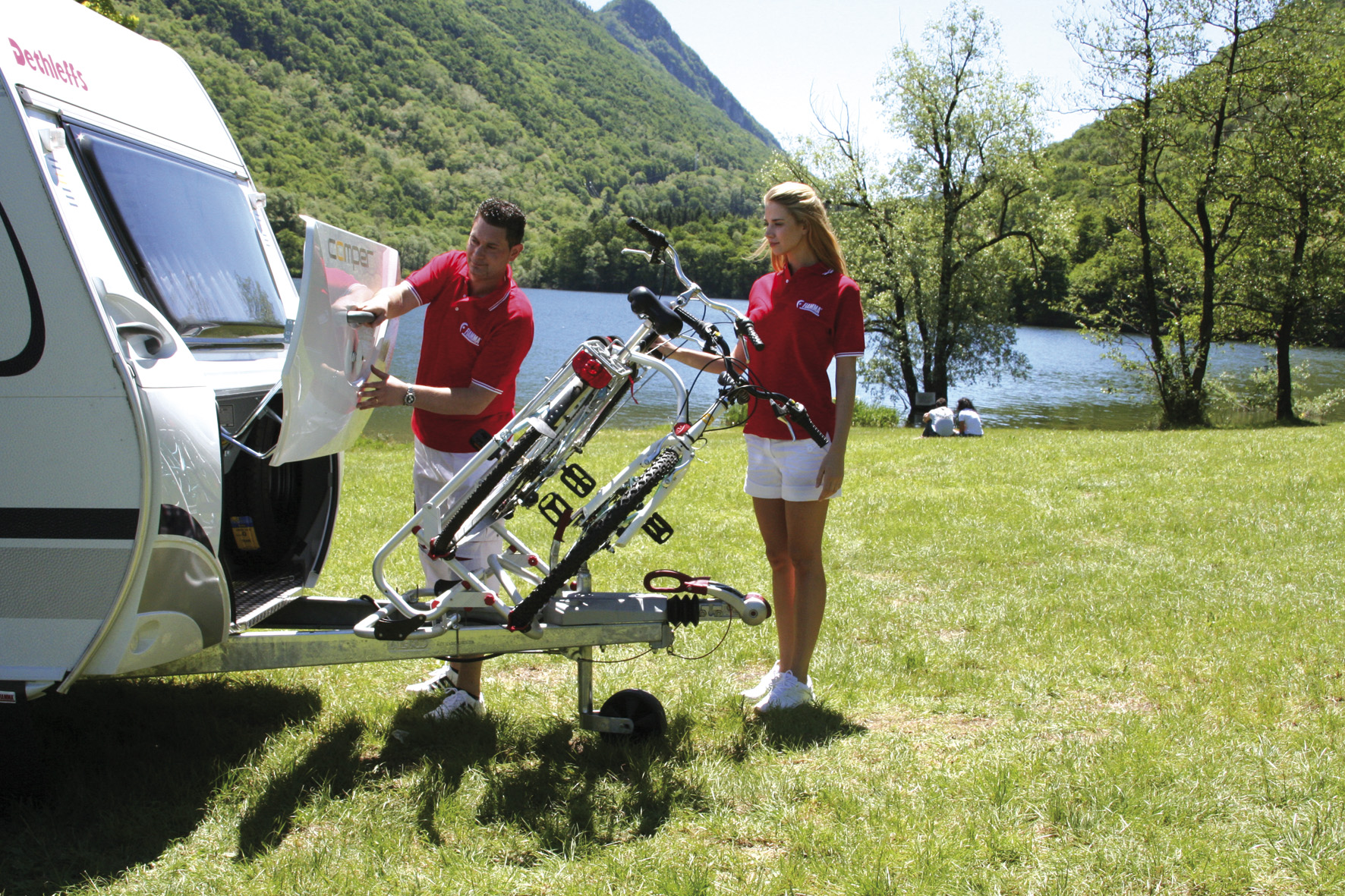 Fiamma Bike Racks and Carriers for Caravans