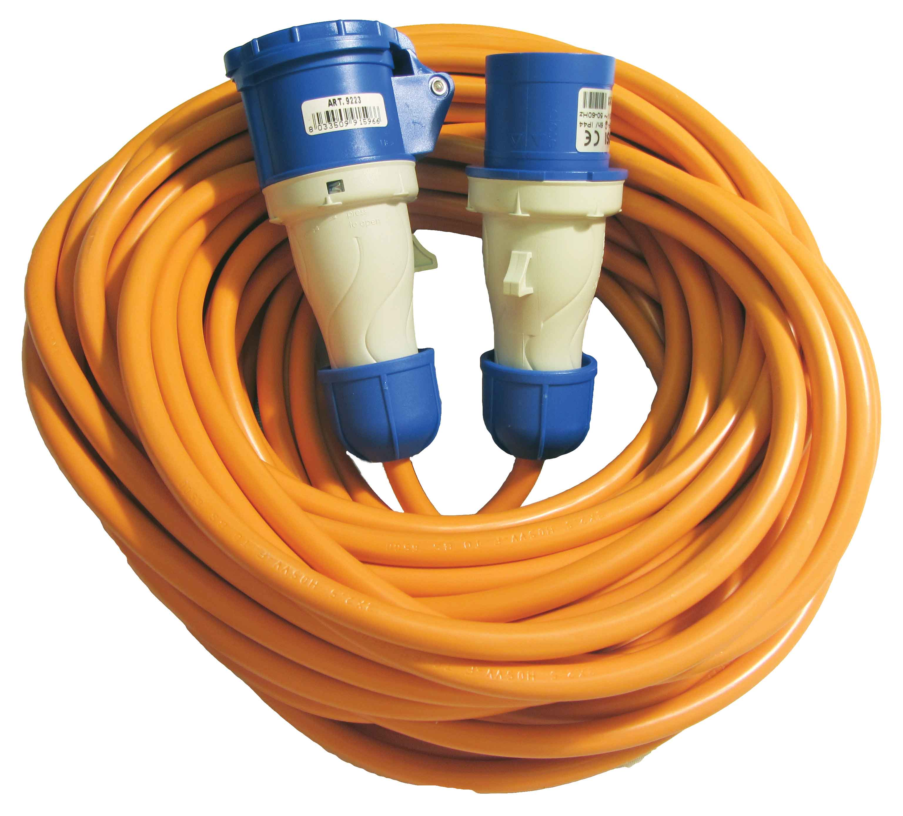 Caravan and Motorhome 240V Mains Cable Plugs Sockets and Installation Products