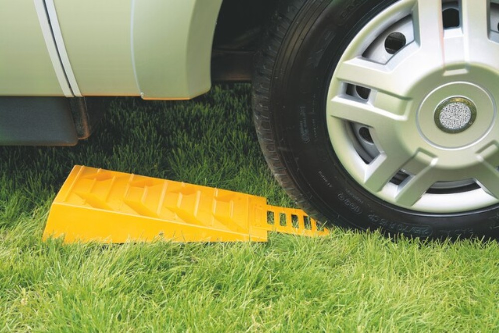 Motorhome Caravan and Campervan Levelling Systems and Aides