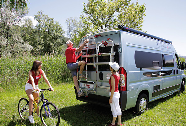 Campervan and Motorhome Exterior Ladders