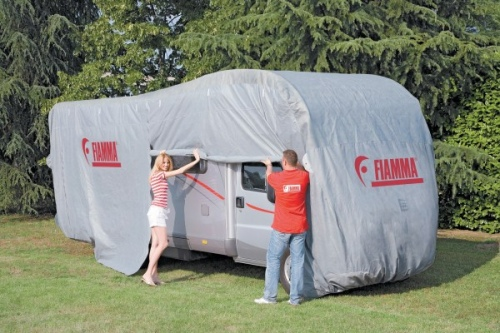A range of products for overwintering your caravan or motorhome including caravan covers, motorhome covers and covertops