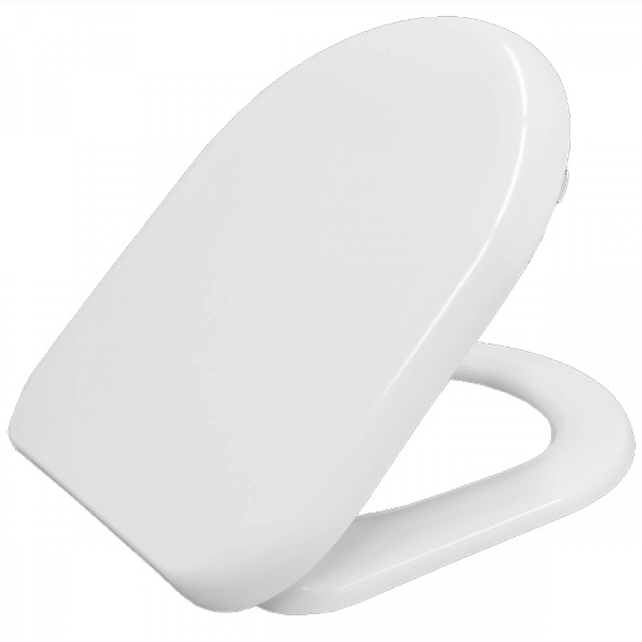 D Shaped Toilet Seat And Lid