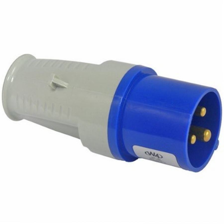 Mains Site Plug 240v 3 Pin Uk