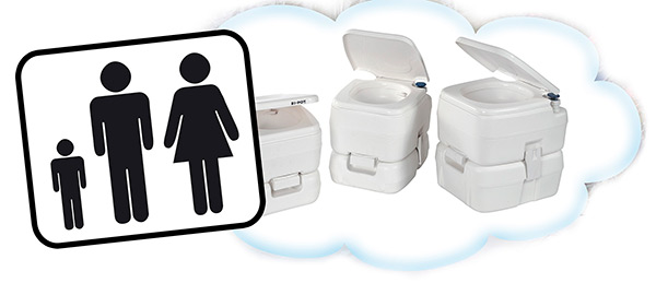 Fiamma Portable Toilet and Pump and Tank Spares