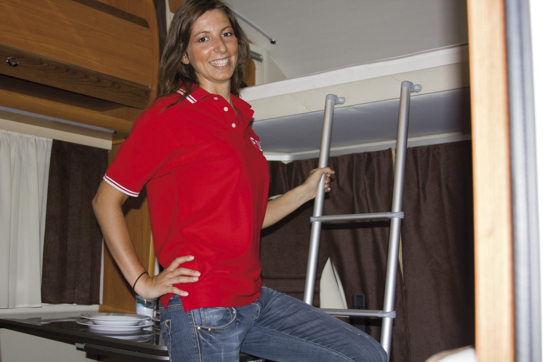 Fiamma Interior Ladders for motorhomes caravans and campervans