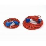 240V caravan and motorhome Mains Extension Lead