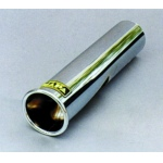 Chrome Vehicle Exhaust Trim for motorhomes and campervans