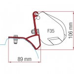 Fiamma Adapter Kit Renault Trafic 2015 F35