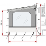 Fiamma Side Blocker for Caravanstore and F35 Pro