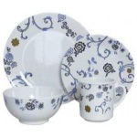 Melamine 16 Piece Dinner Set Heritage
