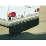 Motorhome Dirt Stopper for the rear of motorhomes stops dirt and road muck