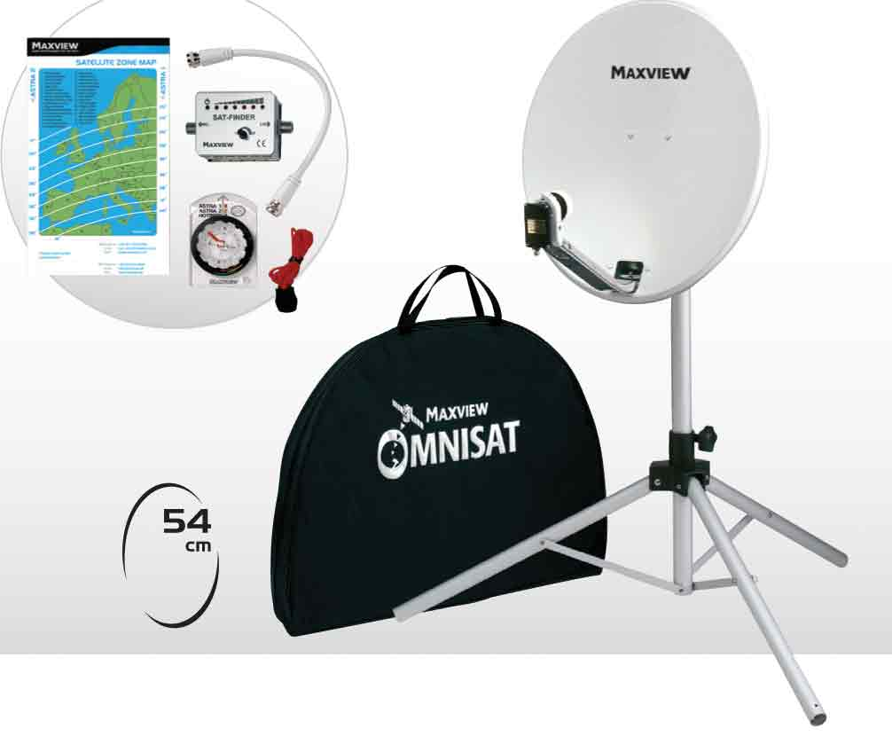 Motohome TV and Satellite Aerials and Receivers