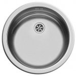 Round Inset Stainless Steel Sink