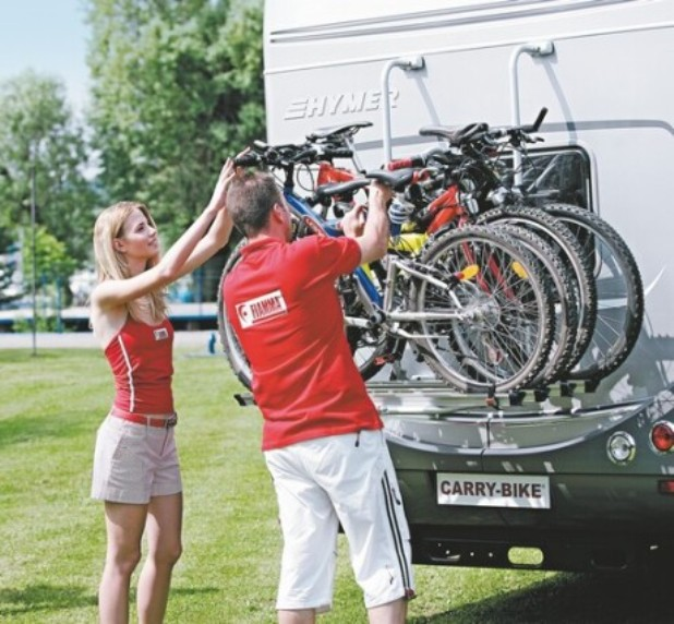 Caravan and Motorhome Bike and Cycle Racks and Carriers